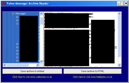 YM Archive Reader